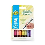 Crayola® My First Crayola® Washable Tripod Grip Crayons, 16/Pack (81-1461)