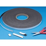 Magnum Magnetics Corporation, Magnet Strip With Adhesive 100Ft Roll, (C060ASIA0.500N000001003GS)