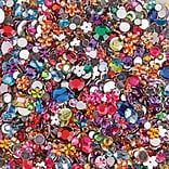 Limited Edition, Faceted Acrylic Gemstones 1/2Lb Mix, (STK-207)