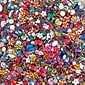 S&S Worldwide Faceted Acrylic Gemstones 1/2Lb Mix (STK-207)