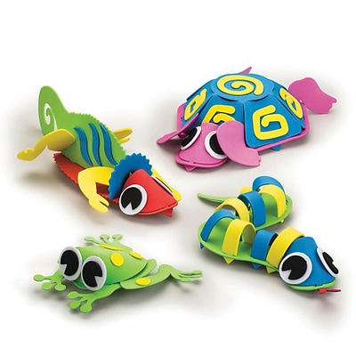 S&S Worldwide Crazy Creatures,  Pack of 12 (CE4397)