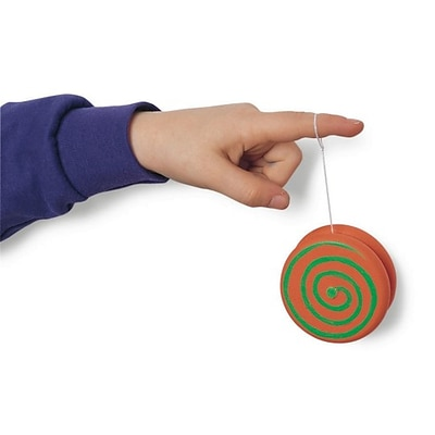 S&S Worldwide Wood Yoyo Craft Kit, 25/Pack (CF-9211GP)