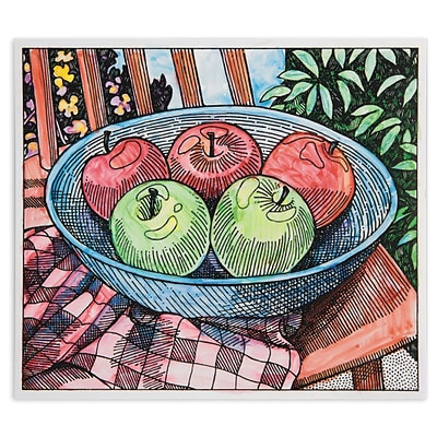 S&S Worldwide, Paint Palette Kit Apple Still Life Pk24, (GP3278)