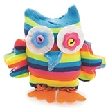 S&S Worldwide Sock Owl Craft Kit, 12/Pack (CF-14092)