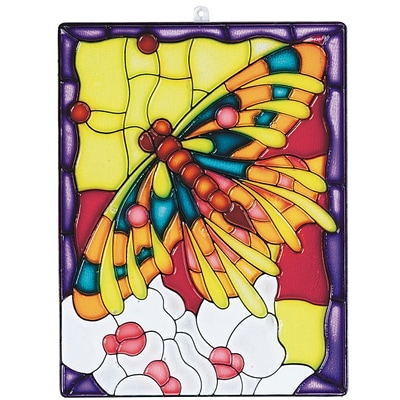 S&S Worldwide Suncatcher Butterfly, 12/Pack (CF-1569)