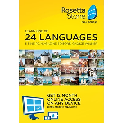 Rosetta Stone 12 Month Online Subscription