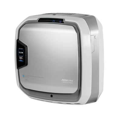 Fellowes AeraMax PureView AM3 PC Air Purifier, Stainless (9573001)