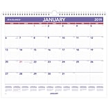 AT-A-GLANCE® Monthly Wall Calendar, 12 Months, January Start, 15 x 12, Wirebound (PM8-28-19)