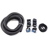 Bush Business Furniture Cable Management Kit, Black, Installed (AC99833BKFA)