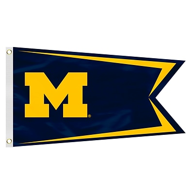 Fremont Die NCAA Michigan Wolverines Boat Flag (023245592406)