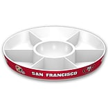 Fremont Die NFL San Francisco 49ers Party Platter 14.5 Round (023245971058)