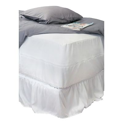 Simplify Home Details Mattress Protector, Sanitized Waterproof, King Size (26433)