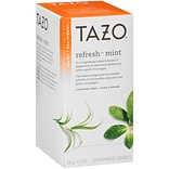 Tazo Refresh Herbal Mint Tea 24 Count (SBK20010)