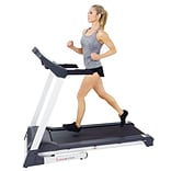 Sunny Health & Fitness SF-T7515 Smart Treadmill with Auto Incline, Sound System, Bluetooth and Phone
