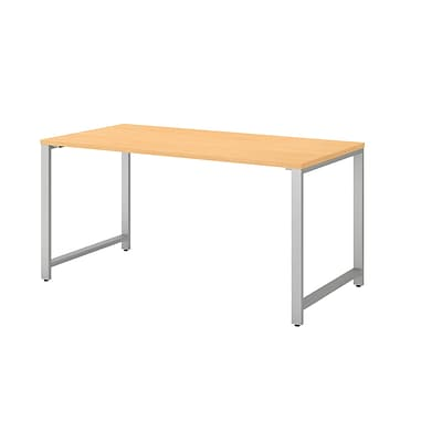 Bush Business Furniture 400 Series 60W x 30D Table Desk, Natural Maple (400S144AC)