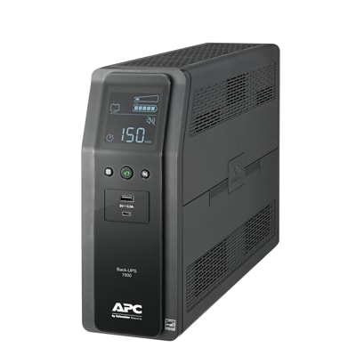 American Power Conversion APC Back-UPS Pro BN 1500VA/900 Watts, 10 Outlets, 2 USB Charging Ports, AVR, LCD interface (BN1500M2)