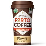 FORTO Vanilla Coffee Energy Shot, 2 Oz., 12/BD