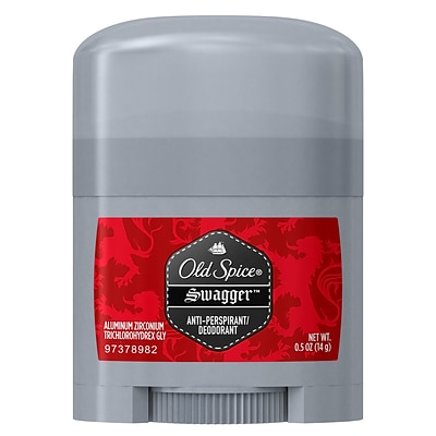 Old Spice Red Zone Swagger Antiperspirant and Deodorant, 0.5 oz., 24/Carton (01643CT)