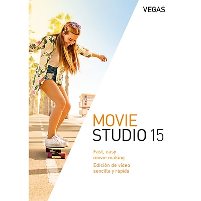 VEGAS Movie Studio 15 for 1 User, Windows, Download (ANR008170ESD)