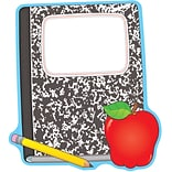 Composition Book and Apple Two-Sided Decorations (CD-188002)