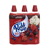 Reddi Wip Original Whipped Topping Cans, 15 Oz., 3/Pack (902-00007)