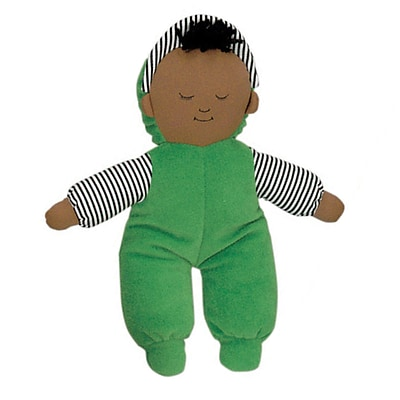 Childrens Factory® Fabric Babys First Doll-African American Boy (FPH763B)
