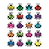 Teacher Created Resources Colorful Ladybugs Stickers, Assorted Colors, Approx 1 each, 120 Count (TC