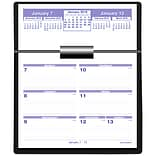 2019 AT-A-GLANCE® Flip-A-Week Desk Calendar and Base, Complete Set, 5 5/8 x 7 Pages included (SW70