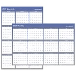 2019 AT-A-GLANCE® Vertical/Horizontal Erasable Wall Planner, Reversible, 12 Months, January Start, 4