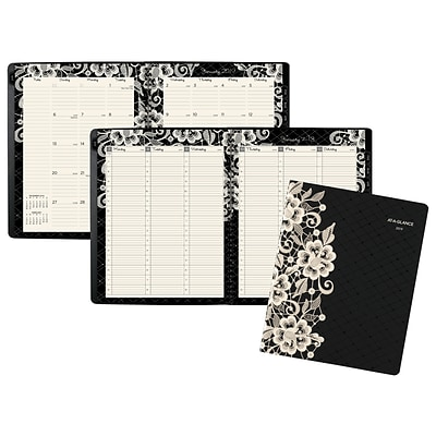 2019 AT-A-GLANCE® Lacey Weekly/Monthly Planner, 13 Months, January Start, 8 1/2 x 11 (541-905-19)