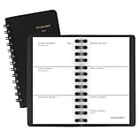 2019 AT-A-GLANCE® Unruled Weekly Pocket Planner, 12 Months, January Start, 2 1/2 x 4 1/2, Black (7