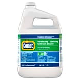Comet Disinfecting Sanitizing Bathroom Cleaner, 128 oz., 3/Carton (22570)
