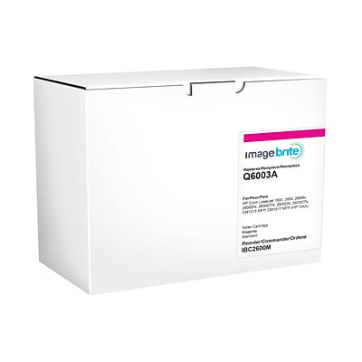 Image Brite HP 124A Remanufactured Magenta Laser Toner Cartridge (Q6003A)