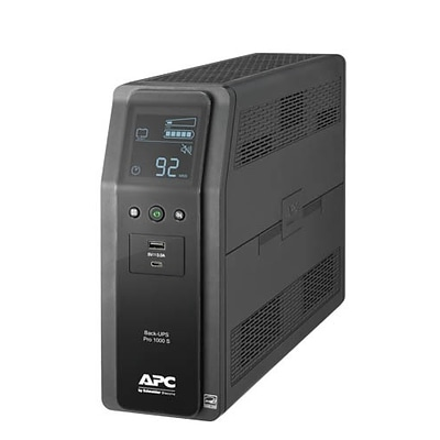 APC Back-UPS Pro 1000VA 10 Outlets LCD Screen (BR1000MS)