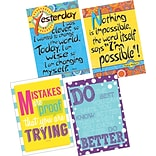 Barker Creek Im Possible, Im Wise & Keep Trying Posters, 4/Set (BC3605)