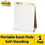 Post-it®, Tabletop Easel Pad, 20 x 23, Unruled, Plain White, EA , (563R)