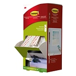 Command™ Poster Strips Cabinet Pack, White, 4 Strips/Set, 100 Sets/Pack (17024CABPK)