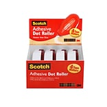 Scotch® Adhesive Dot Roller Value Pack; .31 x 49, 4/Pack
