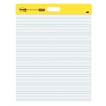Post-it® Super Sticky Self-Stick Wall Pads, 20x23, White,  Lined, 2/Pack (566PRL)