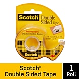 Scotch® Removable Double Sided Tape w/Refillable Dispenser, 3/4 x 11.11 yds., 1 Core, 1 Roll (667)