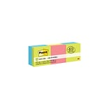 Post-it® Notes Cube, 2 x 2 Assorted Colors, 400 Sheets/Pad, 3 Cubes/Pack (2051-3PK)
