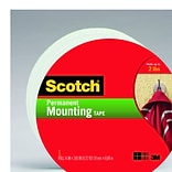 Scotch® Permanent Heavy Duty Mounting Tape; 3/4 x 9.7 yds, 1 Core