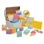 Post-it® Treasure Chest, Assorted Sizes, Assorted Colors (ED65V10)