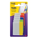 Post-it® Tabs, 2 Wide, Rio de Janeiro Collection, 30 Tabs/Pack (686RIO2)