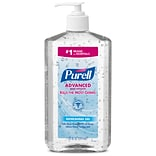 PURELL® Advanced Hand Sanitizer Refreshing Gel for Workplaces, Clean scent, 20 fl oz pump bottle (30