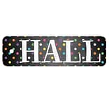Top Notch Teacher Products® Plastic Hall Pass, Chalkboard Dots, Bundle of 3 (TOP10155)