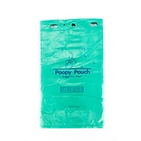 Poopy Pouch Pet Waste Header Bags; Green, 12 Packs/Case (PP-H-200)