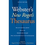 Websters Roget's Thesaurus Third Edition