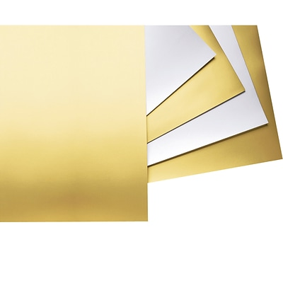 Pacon® Poster Board, 22 x 28, Gold Pack of 25 (PAC54981)