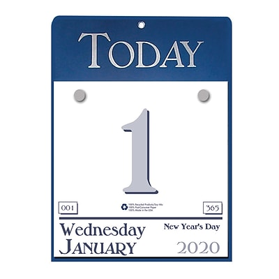 House of Doolittle 2019 Daily Today Calendar Refillable 6-1/2 x 9  (HOD310)
